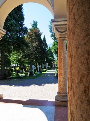 Blick von der Kapelle aus
