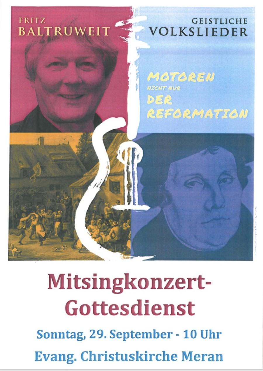 Mitsing-Gottesdienst